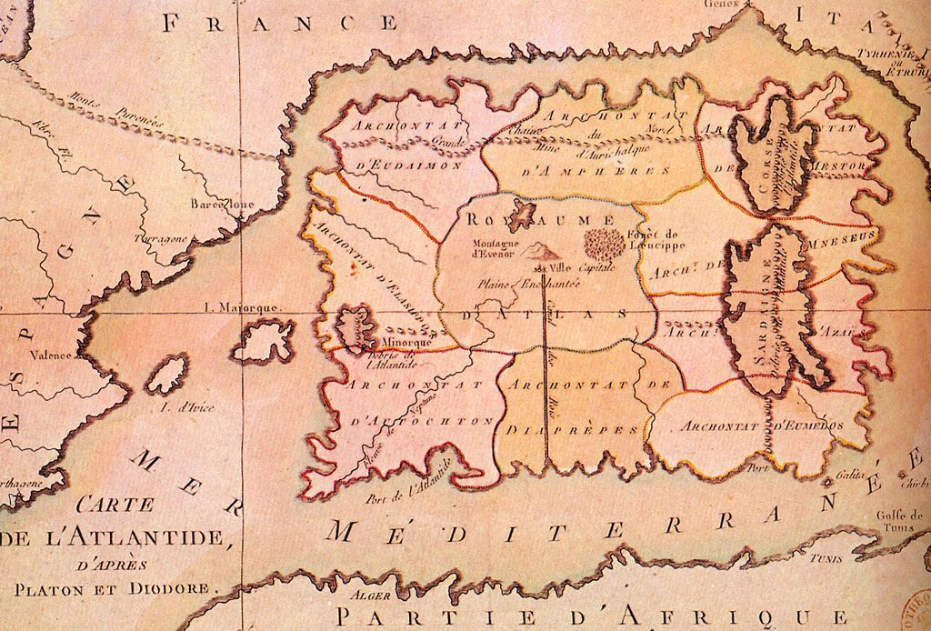 Le Mystère de l'Atlantide...